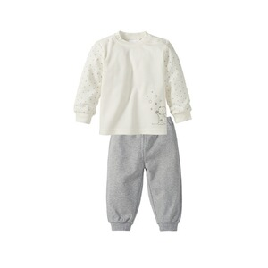 f8adbbf034a77 Bornino BASICS Le pyjama 2 pièces pantalon + T-shirt à manches longues  blanc