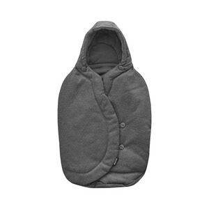 Maxi-Cosi  Winter-Fußsack für CabrioFix, Pebble, Pebble Plus, Citi, Rock  sparkling grey