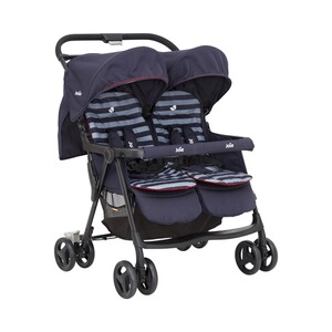 Joie  aire™ twin Zwillings- und Geschwisterbuggy  Nautical Navy