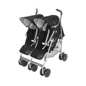 MACLAREN  La poussette double Twin Techno  Black