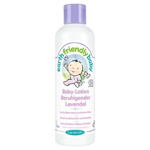 LANSINOH EARTH FRIENDLY BABY Körperlotion Beruhigender Lavendel 250 ml