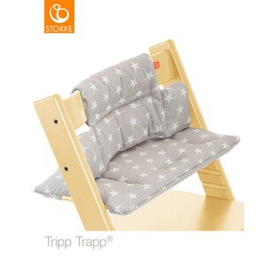 Stokke® TRIPP TRAPP® Coussin d'assise Classic  Grey Star