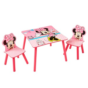 Worlds Apart MINNIE BOW-TIQUE L'ensemble table + chaise enfants