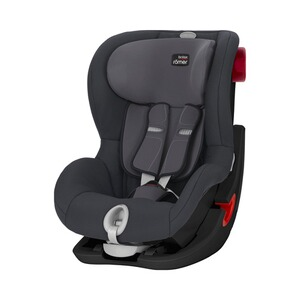 Britax Römer PREMIUM King II LS Kindersitz  Black Series storm grey