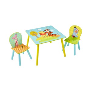 Worlds Apart DISNEY WINNIE PUUH L'ensemble table + chaises enfants
