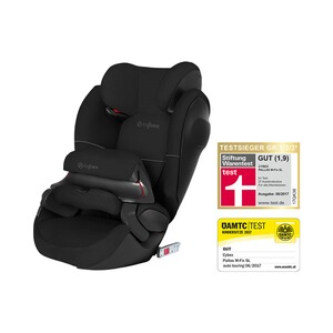 CybexSILVERPallas M-Fix SL Kindersitz  Pure Black 1