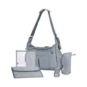 BABYMOOV  Wickeltasche Urban Bag Smokey