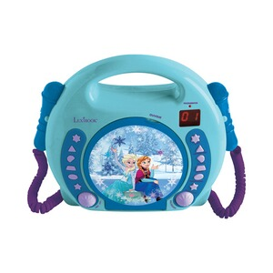 LEXIBOOK DISNEY FROZEN CD Player mit 2 Mikrofonen