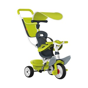 SMOBY  Le tricycle Baby Balade  vert