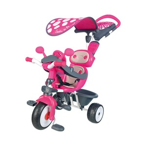SMOBY  Dreirad Baby Driver Komfort 4 in 1  pink