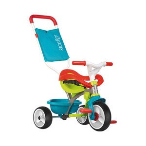 SMOBY  Tricycle Be Move Confort  bleu/vert/rouge/blanc