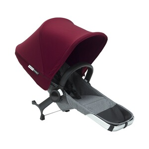 BUGABOO DONKEY² L'ensemble d'extension duo  Gris chiné / rouge rubis
