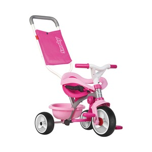 SMOBY  Tricycle Be Move Confort  rose/rose vif/blanc