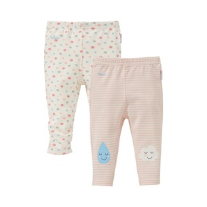 Bornino BASICS Lot de 2 leggings « nuages »