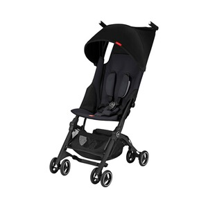 GB GOLD Poussette-canne Pockit+ avec entièrement inclinable  Satin Black