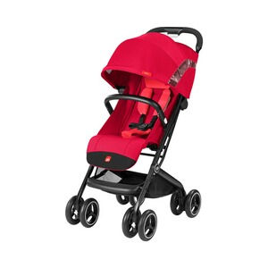 GB GOLD Poussette-canne Qbit+ entièrement inclinable  Cherry Red