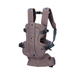 Fillikid  Porte-bébé ventral Walk, 4 positions  anthracite chiné