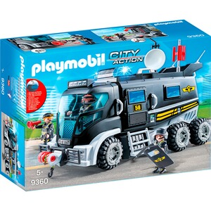 Playmobil® CITY ACTION 9360 SEK-Truck mit Licht und Sound