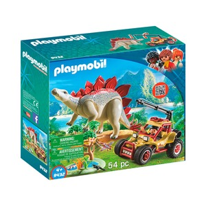 PLAYMOBIL® THE EXPLORERS 9432 Forschermobil mit Stegosaurus