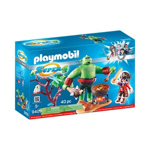 PLAYMOBIL® SUPER 4 9409 Riesen-Oger mit Ruby