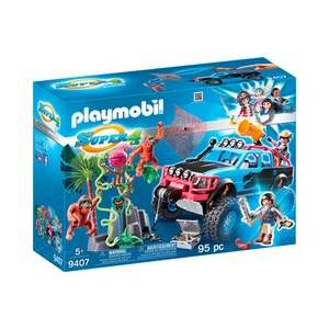 PLAYMOBIL® SUPER 4 9407 Monster Truck mit Alex und Rock Brock