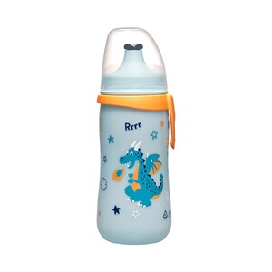NIP  Gourde d'apprentissage Kids Cup dès 18 m  bleu/orange