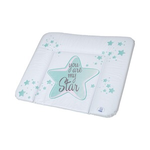 ROTHO BABYDESIGN  Matelas à langer You are my Star 72x85 cm  swedish green