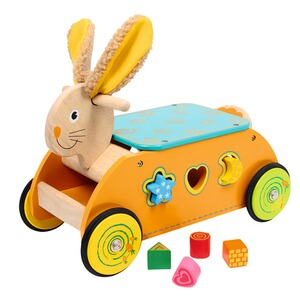 Small Foot  Motorikwagen Hase aus Holz