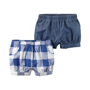 CARTER´S  2er-Pack Shorts Karo
