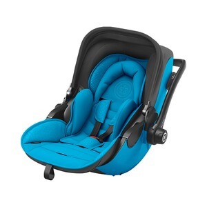 kiddy  Evoluna i-Size2 Babyschale mit Liegefunktion incl. Isofix Base 2  Summer Blue