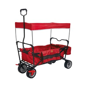 PINOLINO  Chariot pliant Paxi avec frein  rouge