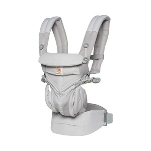 ERGOBABY® OMNI 360 Cool Air Babytrage, 4 Tragepositionen  Pearl Grey