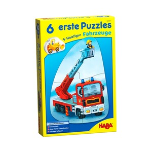 Haba  6 Premiers puzzles - Véhicules
