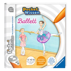 RAVENSBURGER TIPTOI Pocket Wissen - Ballett