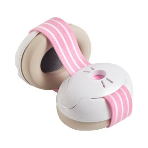 Alpine  Casque anti-bruit Muffy Baby  rose vif