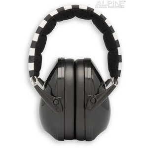 Alpine  Casque anti-bruit Muffy  noir-blanc