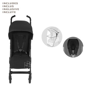 MACLAREN  Poussette-canne Techno XT entièrement inclinable  Black/Black