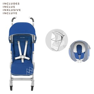 Maclaren  Poussette-canne Techno XT entièrement inclinable  Medieval Blue