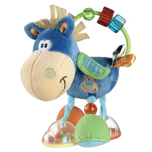 PLAYGRO Le cheval hochet