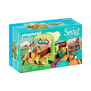 Playmobil® SPIRIT RIDING FREE 9478 Lucky et Spirit avec box