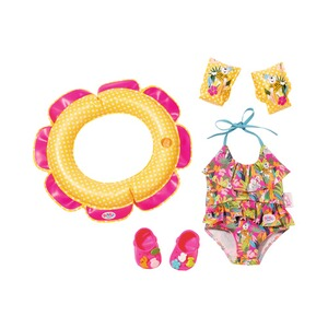 Zapf Creation BABY BORN Puppen Outfit Deluxe Schwimmspaß Set 43cm