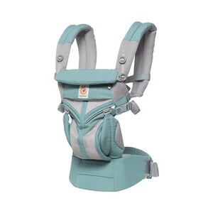 Ergobaby® OMNI 360 Cool Air Mesh Babytrage, 4 Tragepositionen  Icy Mint