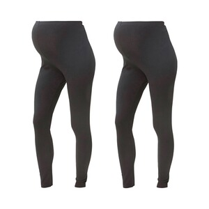 MAMALICIOUS®  Lot de 2 leggings de grossesse Organic Cotton