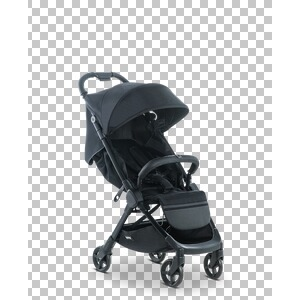 MOON  SL Buggy mit Liegefunktion  black/nylon stripe