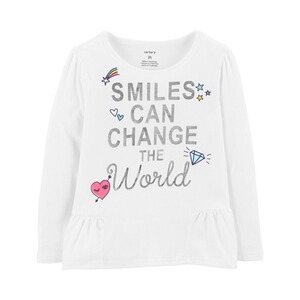 CARTER´S  Shirt langarm Smiles