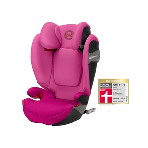 Cybex GOLD Solution S-Fix Kindersitz  fancy pink