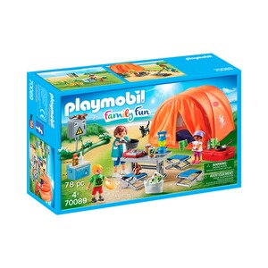 Playmobil® FAMILY FUN 70089 Familien-Camping