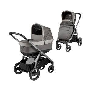 Peg Perego  Book S Pop-Up Kombikinderwagen  Class Grey/titania