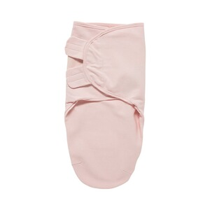 Meyco  Couverture d'emmaillotage SwaddleMeyco unie taille S/M  rose clair