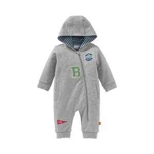 Bornino College Boys Sweat-Overall mit Kapuze